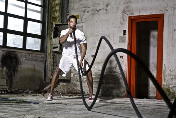 battle rope workouts - replace boring cardio