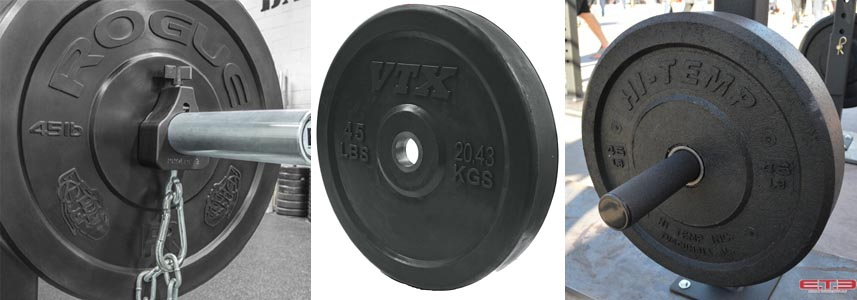 Bumper plates review selecting bumpers for your garage gym