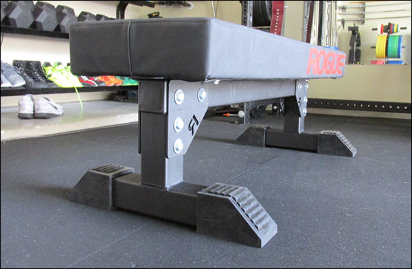 Custom sized Monster Utility Bench w/ Thompson Fat Pad
