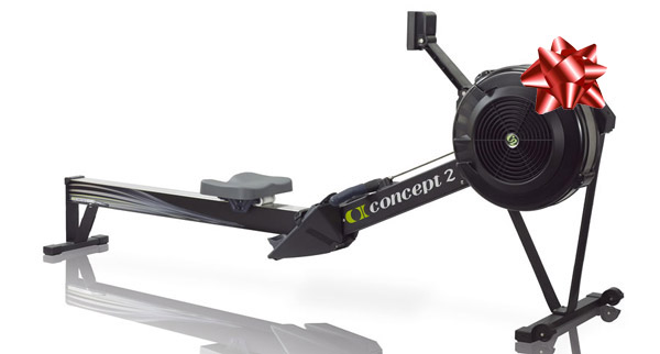 concept 2 rower for weightlifter gift