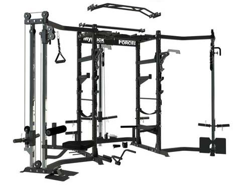 Full range of options and accessories for the Force USA My Rack