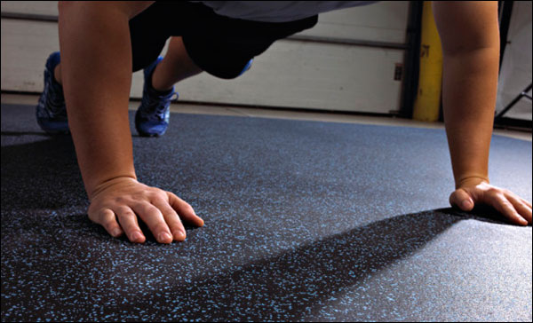 Garage Gym Flooring Options - Rubber Flooring - Reviews and comparisons