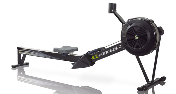 black concept 2 rower