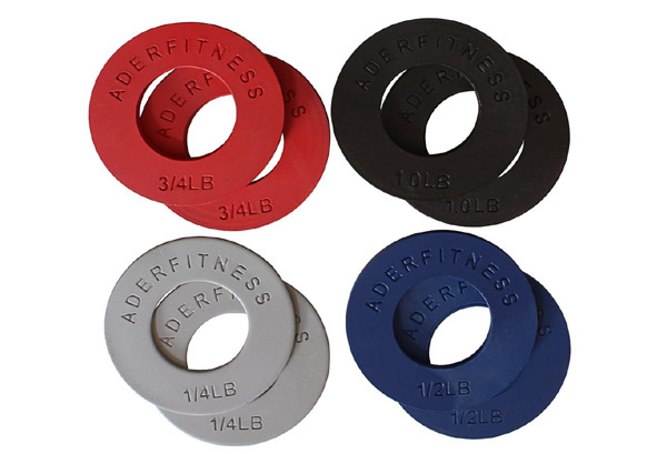 gift ideas for weightlifters fractional olympic plates