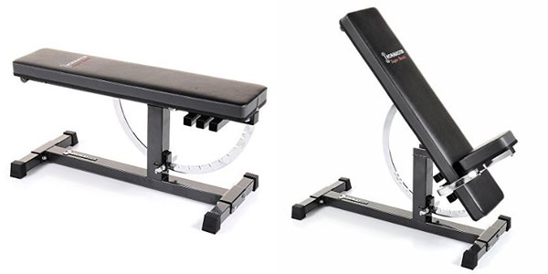 Ironmaster Super Adjustable Bench - Flat to Incline 85 degrees