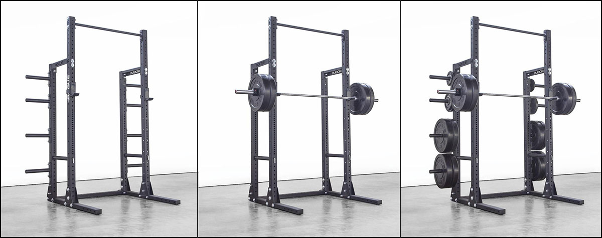 Rogue HR-2 Half Rack and Half Rack Conversion Kit for SML Squat Stands - Top pick