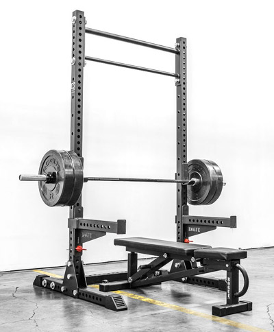 Rogue Fitness monster squat stand
