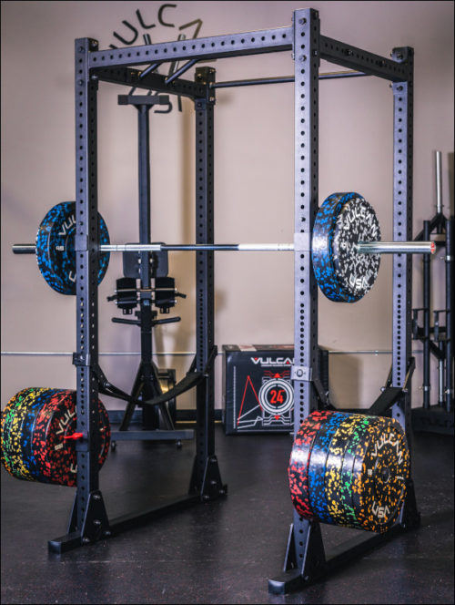 Vulcan 3x3 Flat Footed Economy Power Rack