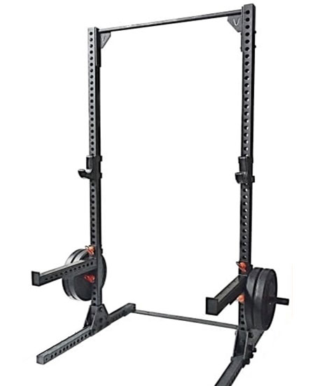 the Vulcan V-Hammer II Squat Stand - 8-gauge beast