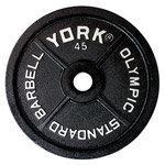 Precision Milled York Legacy Cast Iron Olympic Plates