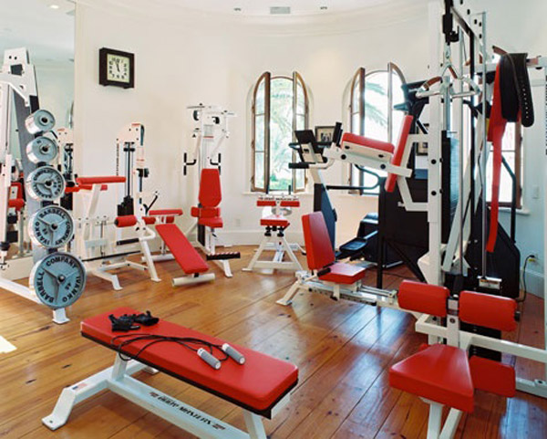 Garage gym inspirations ideas gallery pg 3 garage gyms - Images of home gyms ...