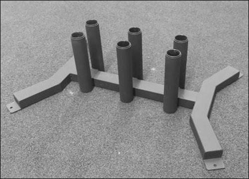 American Barbell 6-bar Vertical Storage - $125