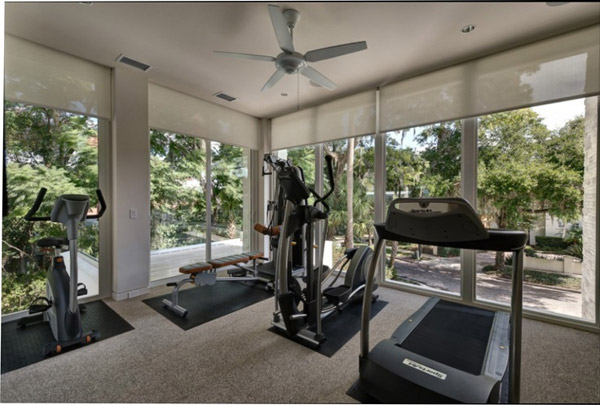 Another great view - A bit more cardio equipment than necessary, but a nice gym nonetheless