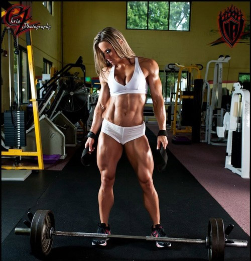 Serious Lady Quads - I'm impressed AND motivated #quadzilla #quads #sexiness