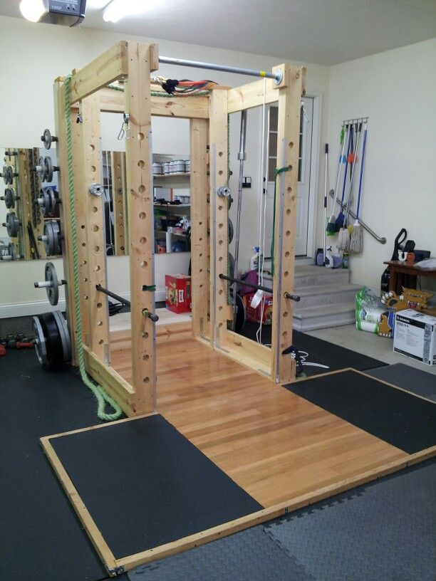 Garage gym inspirations ideas gallery pg 3 garage gyms for How to create a home gym