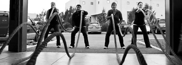 Battle Ropes Featured Cardio