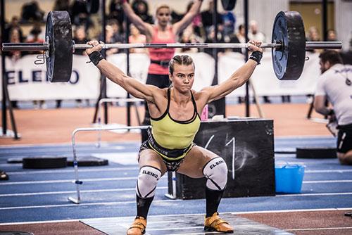Bjork Odinsdottir and Eleiko XF #Bjork #CrossFit