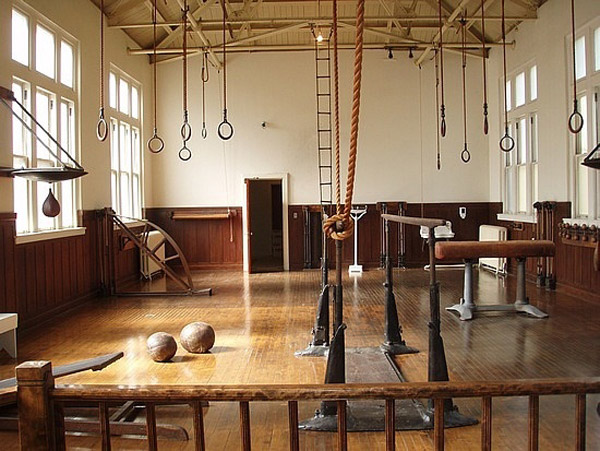 Classic gymnastics gymnasium
