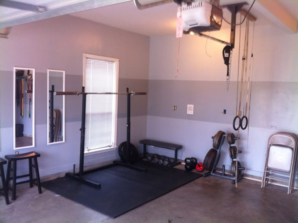 Dedicated Garage Gym