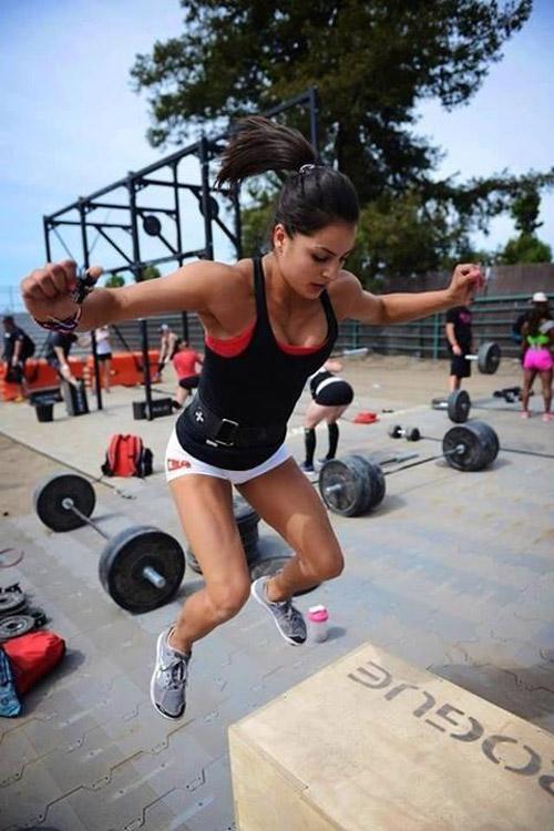 CrossFit box jumps FTW #CrossFit #WOD