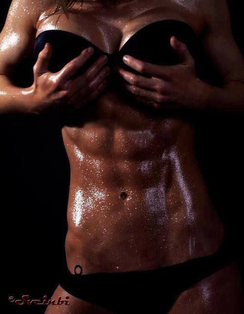 Want this? Train a little harder. You can do it! #abs #washboard