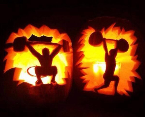 Oly pumpkin carving