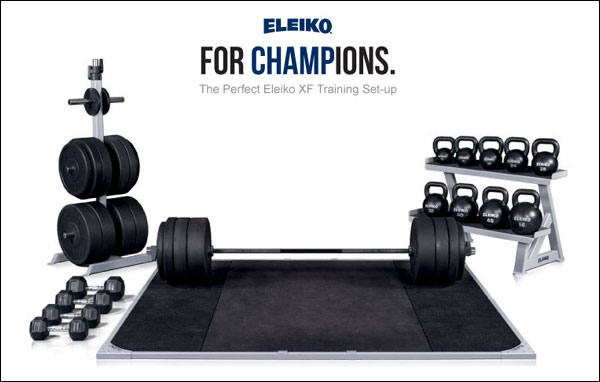 The Affordable Eleiko line - XF Bars and Bumpers