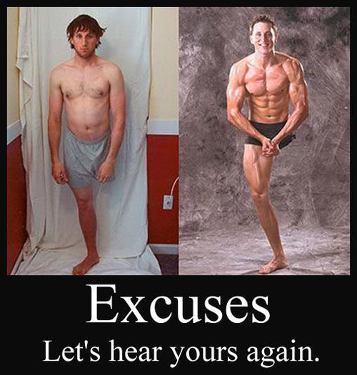 Exactly, what's your excuse #inspire