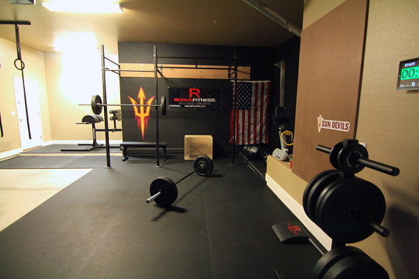 This is very nice. Super clean and organized garage gym