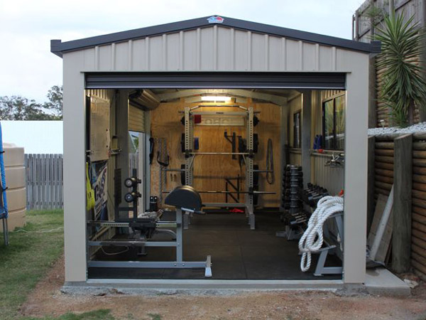 Garage gym of the week randy jackvony