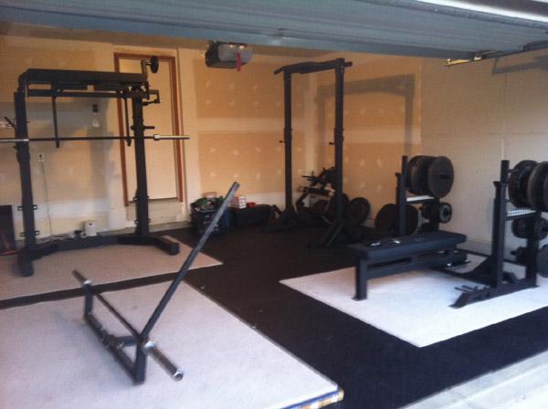 Powerlifting home gym of dragonsfootball17