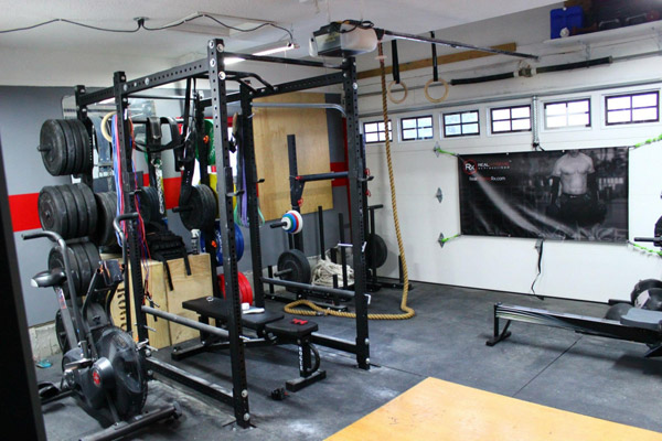 Diy bumper plate and barbell storage photo only garage gym