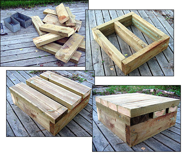 heavy duty DIY squat box