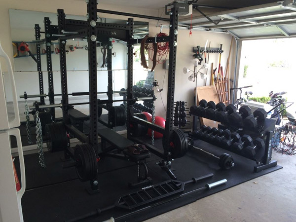 Power rack home gym setup cosmecol