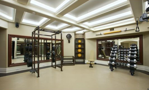 Home Gym Design: Garage Gym Inspirations & Ideas Gallery Pg 3