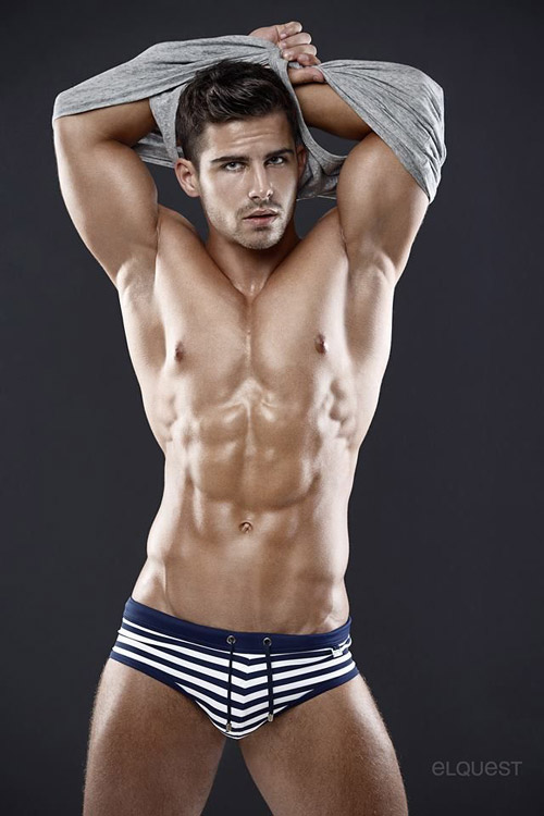 Smooth, tan and motivating as hell. I'd like his workout and diet plan please