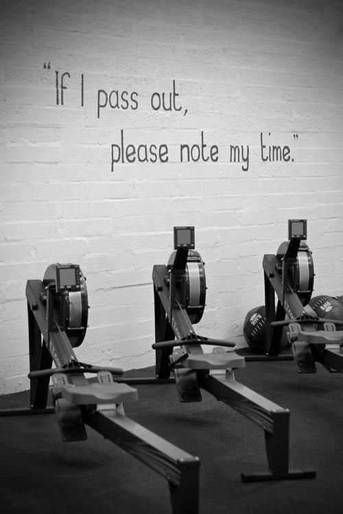 Only in CrossFit #CrossFit #lastbreath