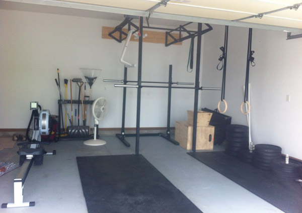 Building a garage gym building a garage gym on a budget diy garage