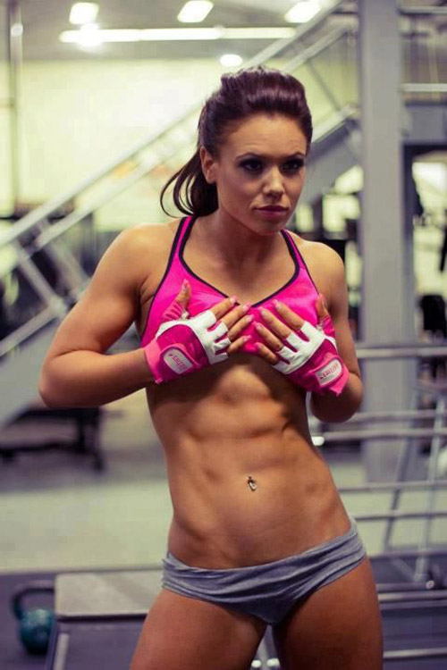 Margret Gnarr taekwondo champ - trim, thin, strong and sexy all in one. Take that magazine models! #abs #hot