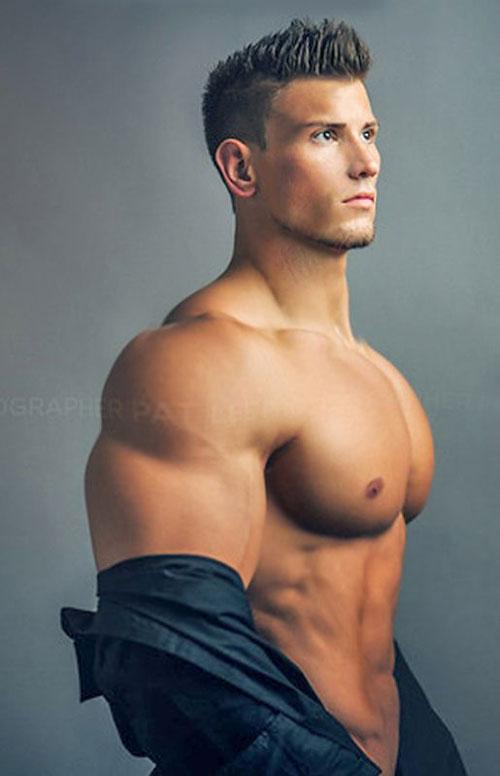 Massive Super Hero chest #superman #big chest