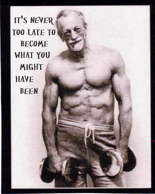 Never too late to start #start #today #S&C