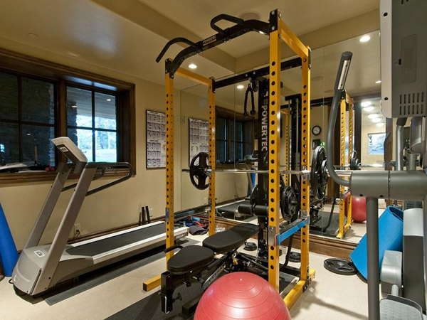 This is not a garage gym - but it could be