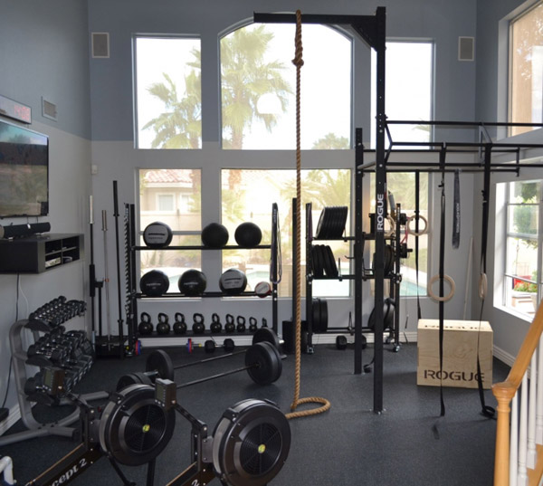Clearly not a garage gym, but it very well could be one