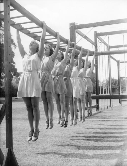 Old school WOD - Ladies CrossFit