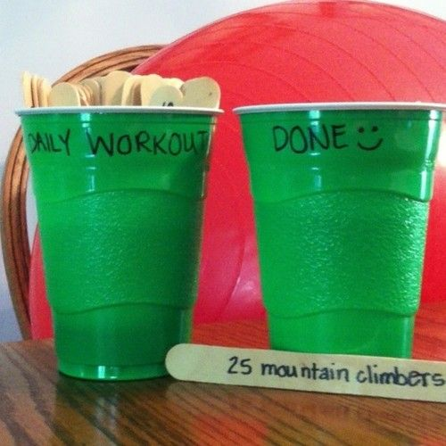 This is an outstanding idea #fitness game #Popsicle