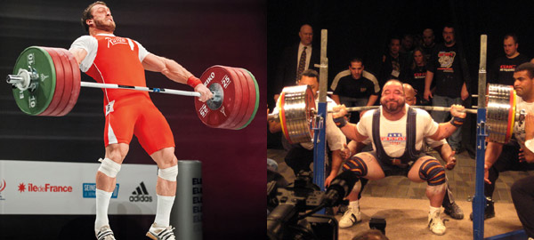 Powerlifting barbell vs olympic what s the