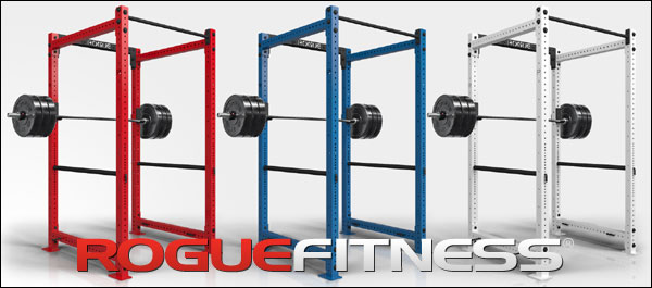 Rogue Colored RML-490C Power Racks in 10 beautiful colors