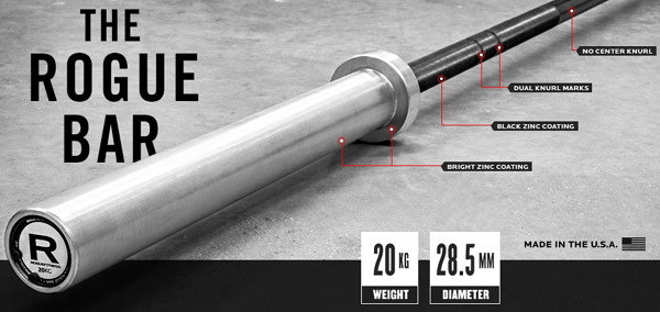 The Rogue Bar Olympic Of Crossfit