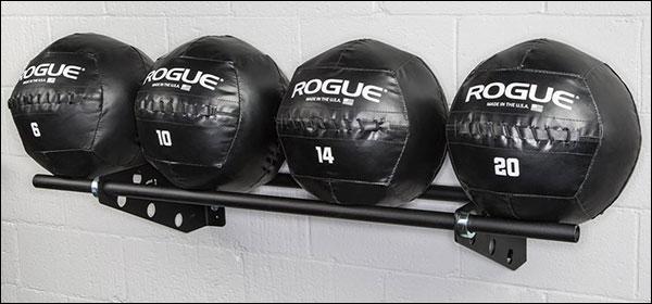 Rogue Wall-Mounted Swiss Brackets for medicine balls for medicine balls