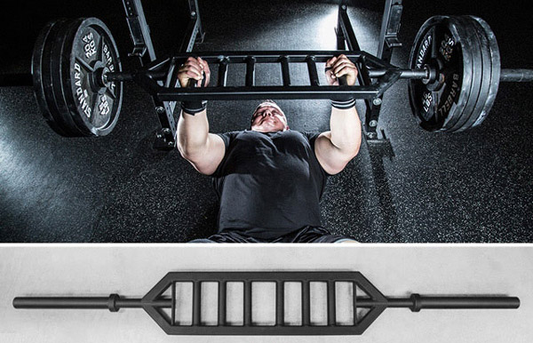 The amazing Rogue Heavy Duty Multi-Grip Bar - Specialty Weightlifting Bars